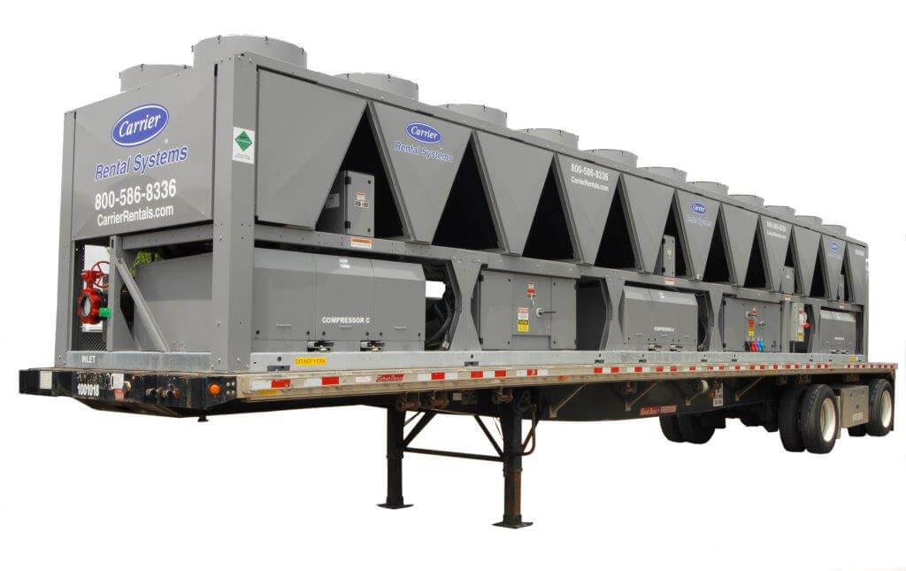 Selecting chiller rentals