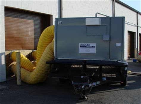 air conditioning rentals equipment