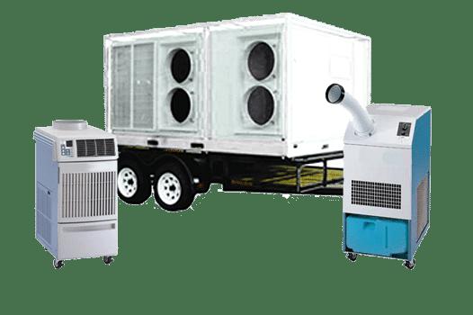 HVAC equipment rental products