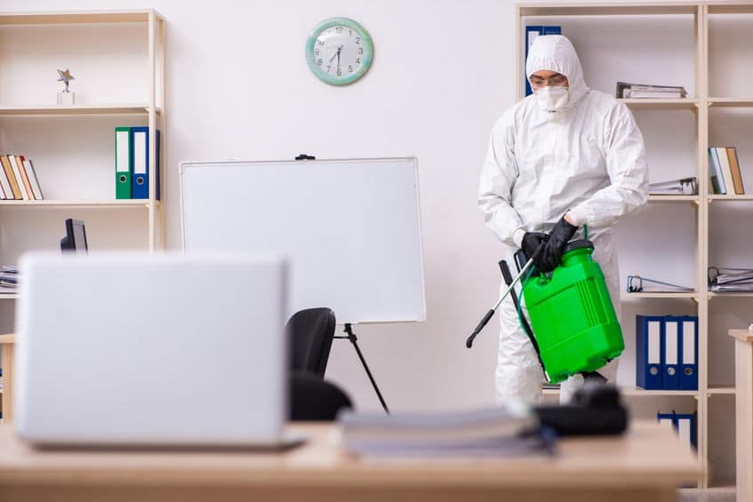 commercial spray service