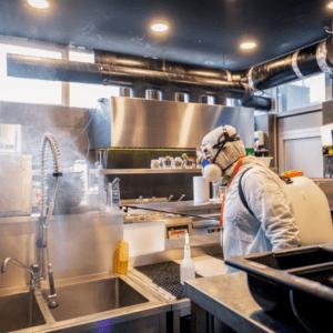 industrial sanitizer servicing for Louisville