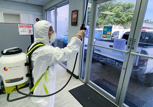 Commercial Disinfecting